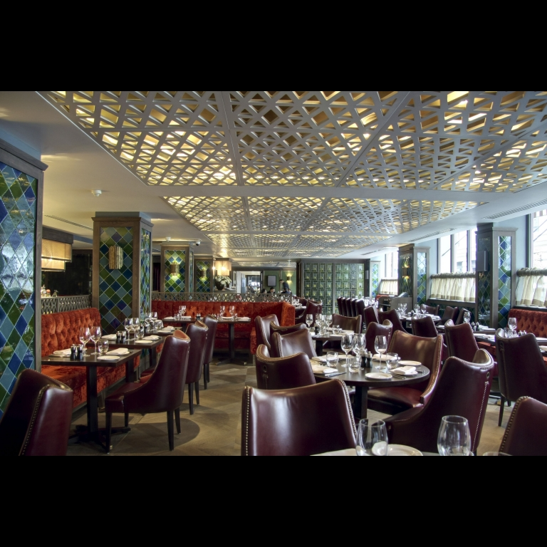 Artcoustic Superstars and Diablos installed throughout Quince Mayfair restaurant
